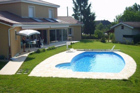 Aménagement extérieur de piscine Ain | EURL Bernard